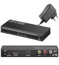 Composite Video/S-VHS auf HDMI Converter