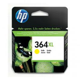 Tinte color HP original CB325EE 364XL yel.