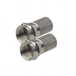 Sat F-Stecker 8,2mm 2 Stück