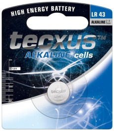 Knopfzellen Batterie 1Stk. LR43