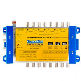 Sat Unicable Technisat Technirouter 9/1K