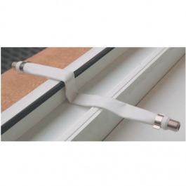 Sat Kabel Fenster- + Balkondurchführung