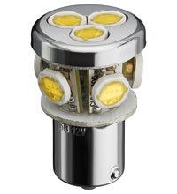 LED BA15 d CLUSTER 12Volt weiss