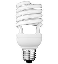 Energiesparlampe Spiral 23W mit E27 Sock