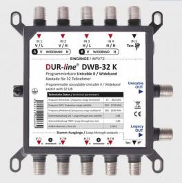 Sat Unicable 2 Dur Line DWB 32K