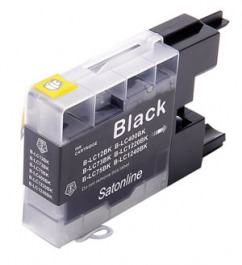 Tinte schwarz Brother LC 1240 BK BLACK