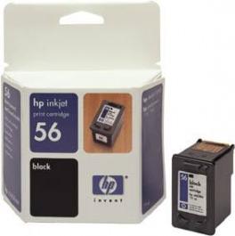 Tinte schwarz HP original C6656 AE Nr. 56