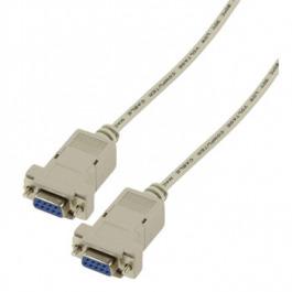 Kabel Seriell DB9 W/W 3.00 m Nullmodem