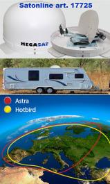 Sat Antenne Campingman Set