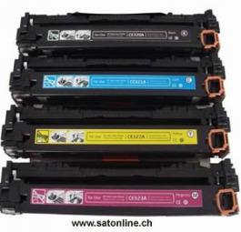 Toner zu HP CE323A Laser CM1415 magenta