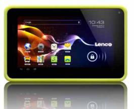 Color Tablet Lenco Cooltab-72 Lime