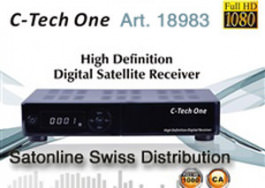 Clarke-Tech C-Tech ONE SAT HD + IPTV Rec