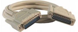 Kabel Seriell/Parallel DB25 M/M 5.00 m