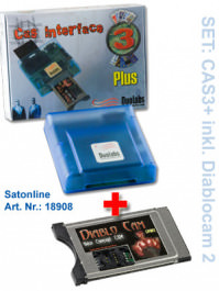 CAS3 Interface PLUS inkl. Diablocam 2