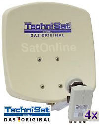 Sat Antenne Technisat DigiDish 45 Quad