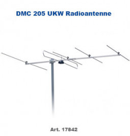 UKW + DAB+ Radioantenne DMC 205 5Element