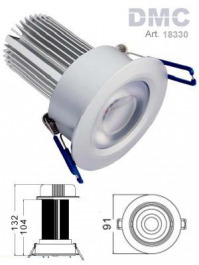 LED Downlight 10Watt Deckeneinbaulampe