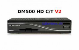 Cable Receiver Dreambox DM 500HD C/T V2