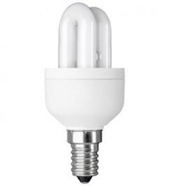 Energiesparlampe Rohr 7W mit E14 Sockel