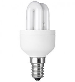 Energiesparlampe Rohr 9W mit E14 Sockel