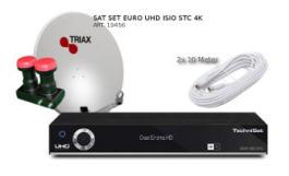 Sat Set Technisat UHD ISIO STC 4K