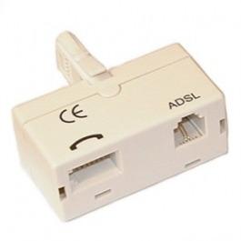 Modem ADSL ISDN Filter 1 Tel