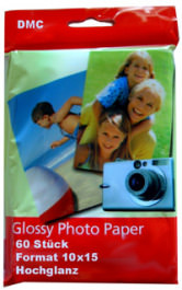 Druckerpapier Photo Glossy 10x15 Glanz