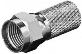 Sat F-Stecker 7.7mm 2 Stück