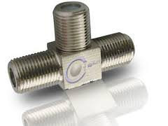 Sat F-Kupplung T-Stück Mini Verteiler