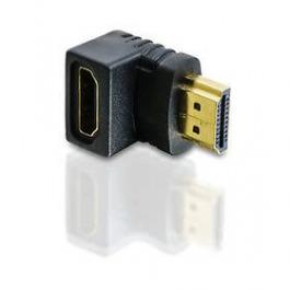 Adaptateur dangle HDMI court 90 degrés