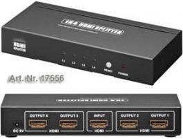 HDMI Splitter von 1 HDMI auf 4 HDMI HQ