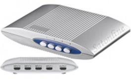 HDMI Umschaltbox 4 in 1 out silber