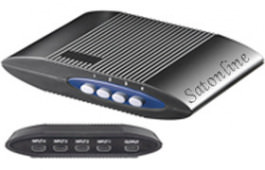 HDMI Umschaltbox 4 in 1 out schwarz