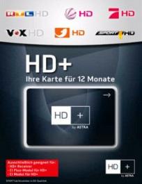 Sat Pay-TV HD Plus Karte Typ HD03/4 12Mt