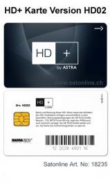 Sat Pay-TV HD Plus Karte Typ HD02