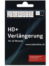 Sat Pay-TV HD Plus Verlängerung 12Monate
