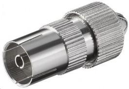 IEC Buchse Metall schraubbar
