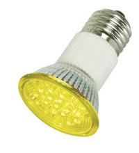 LED Sparlampe E27 150LUX 230V      gelb;