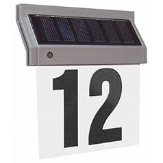 LED Solar Hausnummernleuchte
