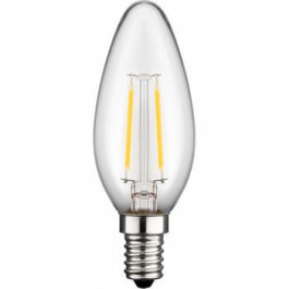 LED Sparlampe Kerze E14 Filament warm