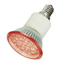 LED Sparlampe E14 150LUX 230V rot