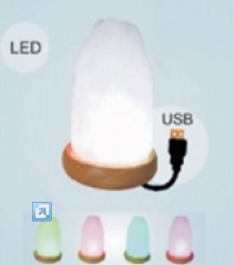 LED Computer-Salzlampe USB *Multicolor*