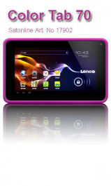 Color Tablet Lenco Cooltab-70 Pink