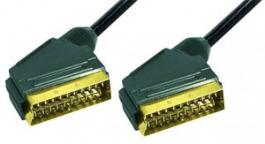 Scart-Kabel VC 3D/21 polig  1.5 Meter