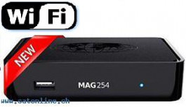 IPTV MAG 254 WIFI VOD OTT Streambox