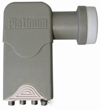 Sat LNB quad Platinum 0.2db HQ HD
