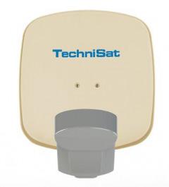 Technisat QuattroSat single beige