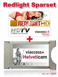 Redlight TV 11 Kanal + Helveticam Set