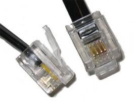 Kabel Modemkabel RJ11 - RJ11 15.00 m