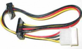 Kabel ATX S-ATA Spannungversorgung 2x